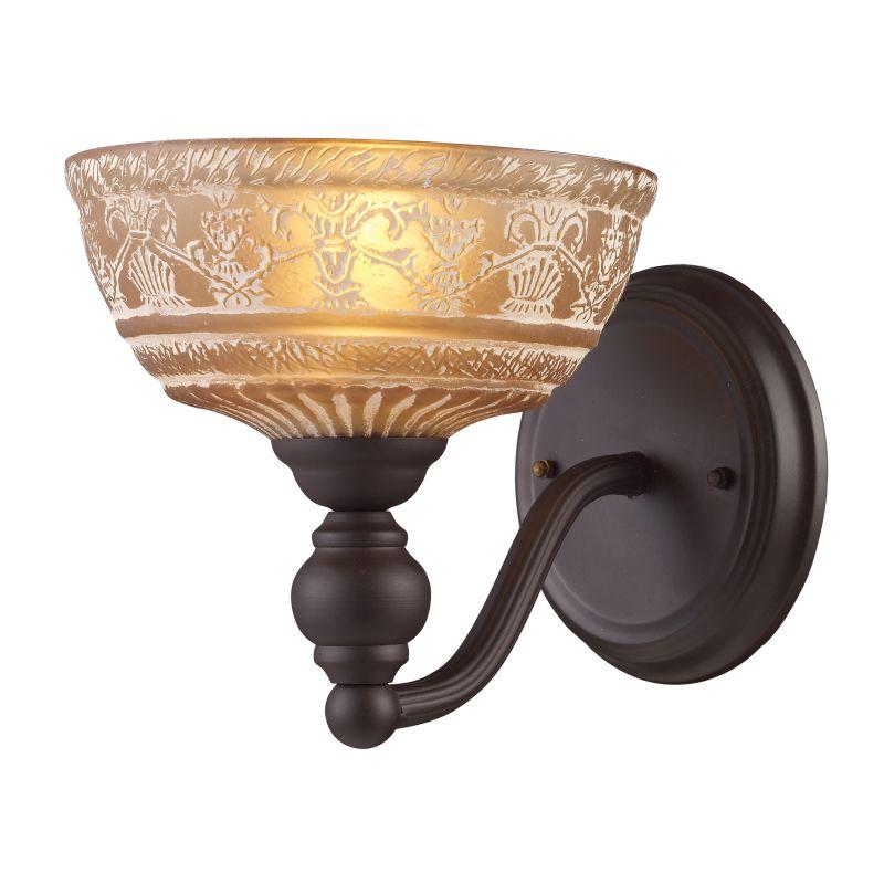 ELK Lighting 66190 Norwich Single-Light Sconce in Oiled Bronze Oiled