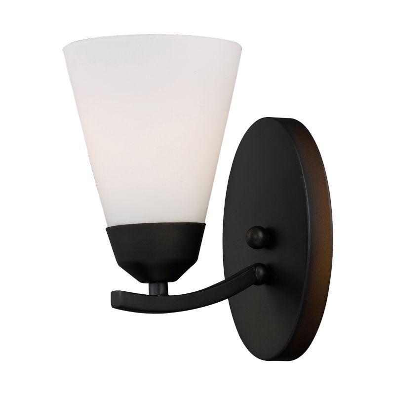 "ELK Lighting 67016-1 Tempest 1 Light 8"" Bathroom Sconce with Frosted"