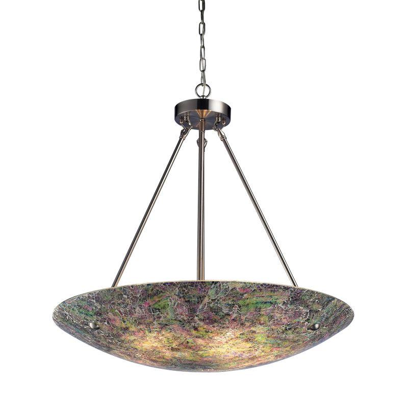 "ELK Lighting 73023-5 Avalon 5 Light 24"" Wide Pendant with Round Canopy"