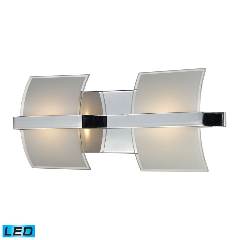 "ELK Lighting 81031/2 Epsom 2 Light 16"" LED Vanity Fixture with Frosted"