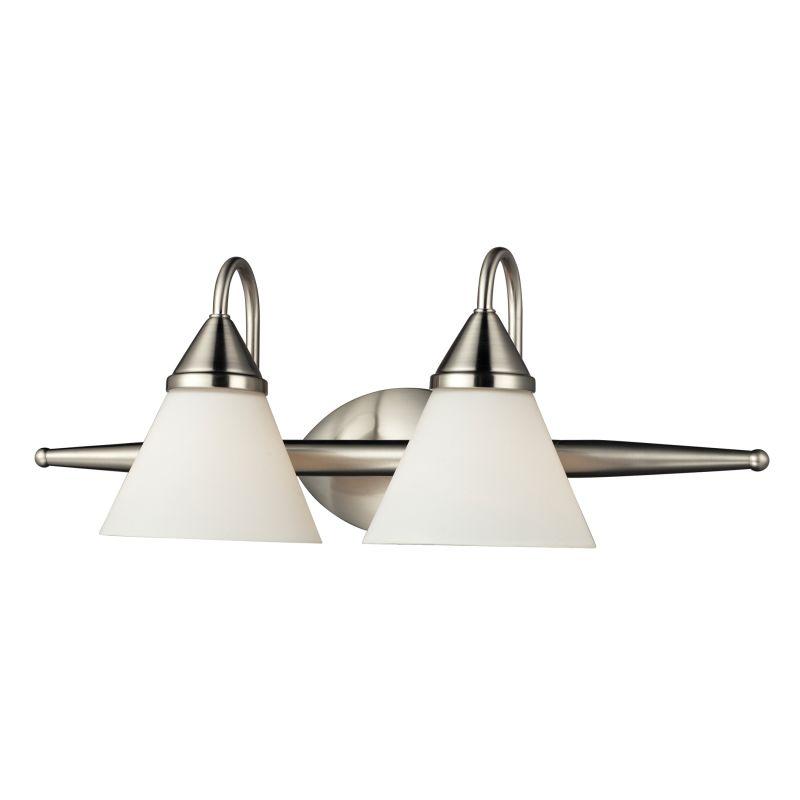 """ELK Lighting 84056/2 Alpine 2 Light 21"""" Vanity Fixture with Frosted"""