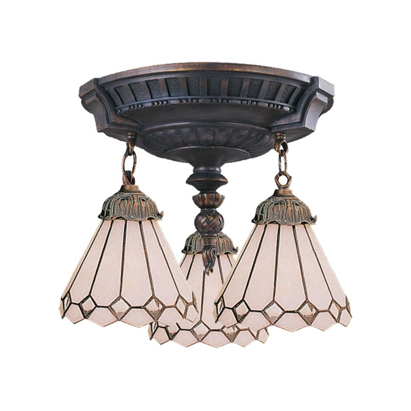 ELK Lighting 997-AW-04 Mix-N-Match 3 Light Semi-Flush Ceiling Fixture