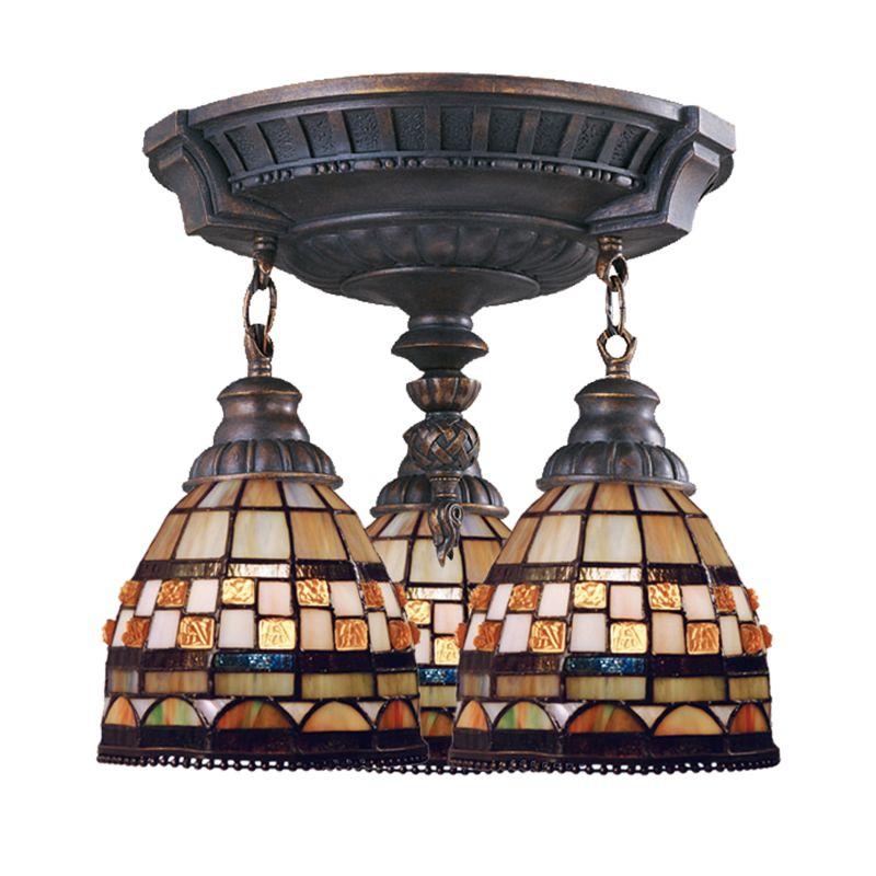 ELK Lighting 997-AW-10 Mix-N-Match 3 Light Semi-Flush Ceiling Fixture Sale $434.00 ITEM: bci2220974 ID#:997-AW-10 UPC: 830335005872 :