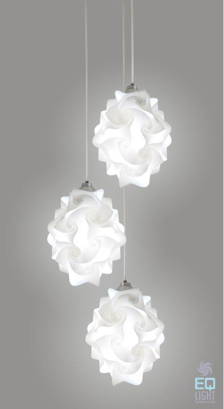 EQ Light SC2S01 Chi Multi Light 3 Light Pendant Steel Indoor Lighting Sale $287.49 ITEM: bci2267094 ID#:SC2S01 UPC: 7503013100239 :