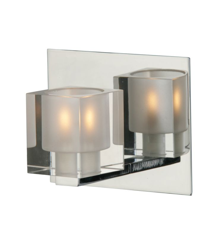 ET2 E22031-18 Chrome Contemporary Blocs Wall Sconce Sale $58.00 ITEM: bci913764 ID#:E22031-18 UPC: 845094002628 :