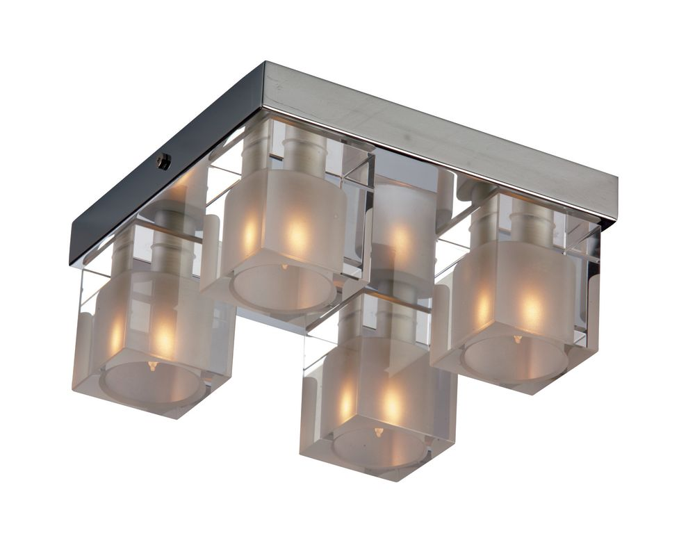 ET2 E22038-18 Chrome Contemporary Blocs Ceiling Light Sale $158.00 ITEM: bci913771 ID#:E22038-18 UPC: 845094002697 :