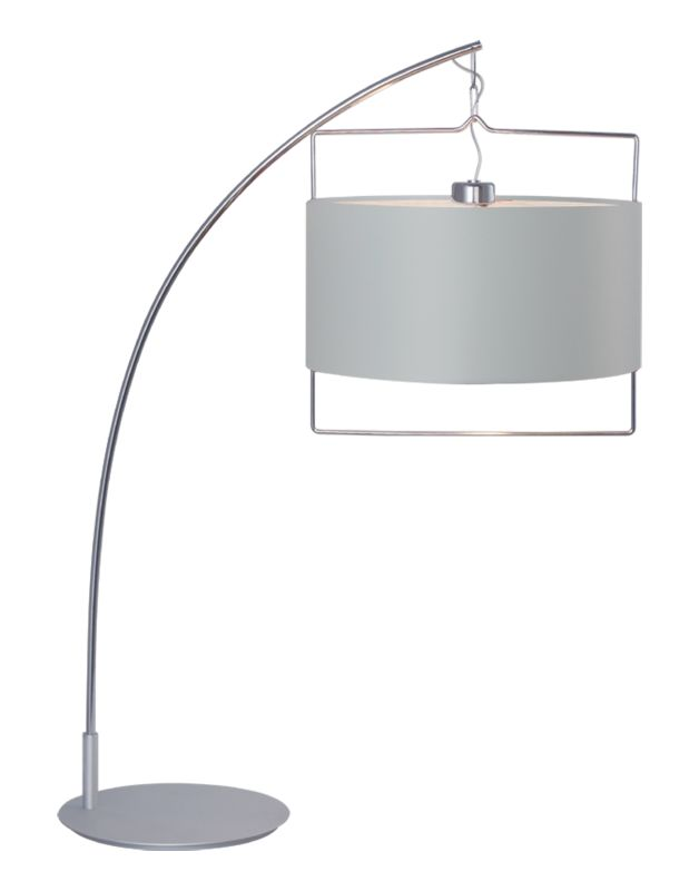 ET2 E22313-01 Satin Nickel Contemporary Passion Table Lamp