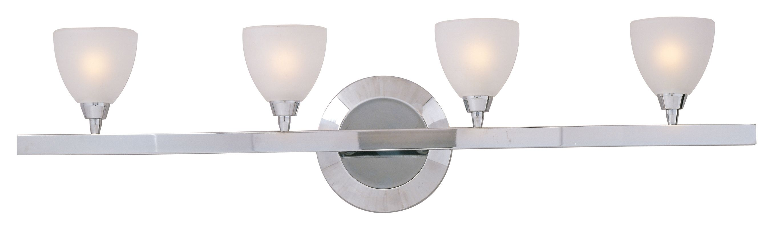 "ET2 E30030 Contemporary / Modern Four Light 28"" Wide Bathroom Fixture"