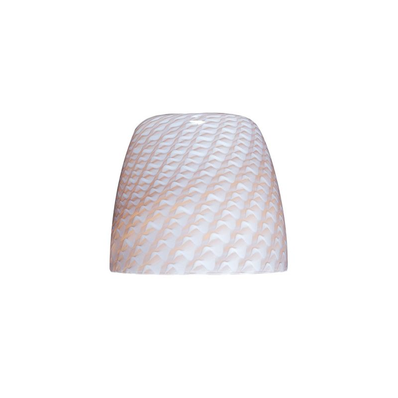 ET2 EG90139 Single Dome Glass Shade from the Carte Collection Ripple