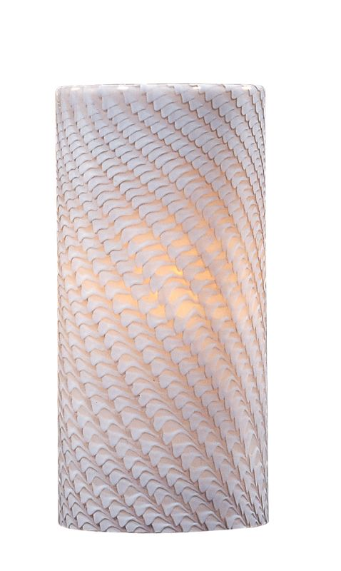 ET2 EG90539 Single Cylinder Glass Shade from the Carte Collection