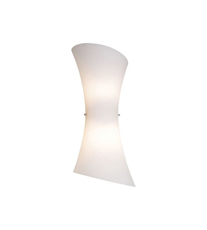 ET2 E20412-09 Frost White Contemporary Conico Wall Sconce