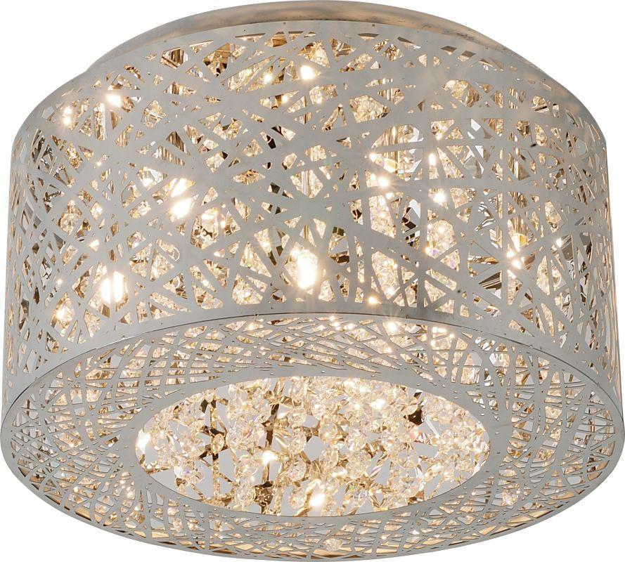 ET2 E21300-10PC Polished Chrome Contemporary Inca Ceiling Light