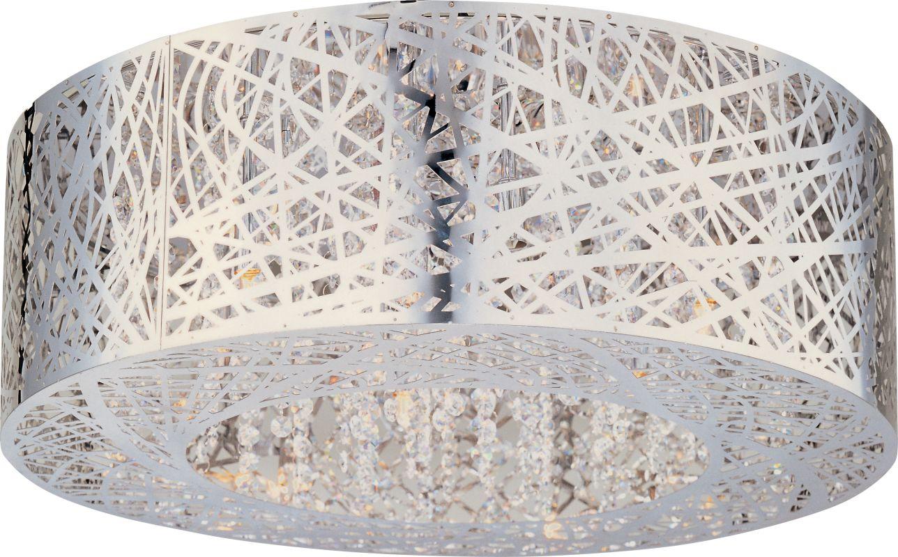 ET2 E21301-10PC Polished Chrome Contemporary Inca Ceiling Light