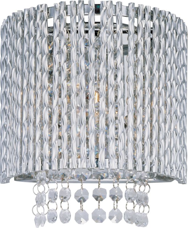 ET2 E23130-10PC Polished Chrome Contemporary Spiral Wall Sconce Sale $84.00 ITEM: bci1954549 ID#:E23130-10PC UPC: 845094043546 :