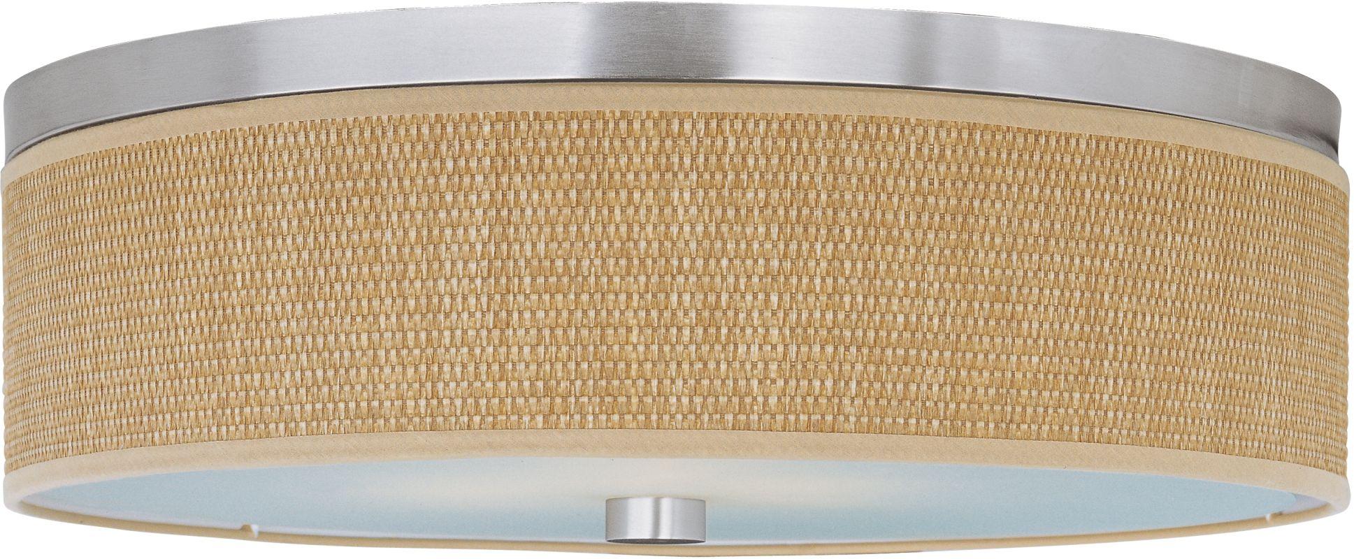 ET2 E95004-101SN Satin Nickel Contemporary Elements Ceiling Light