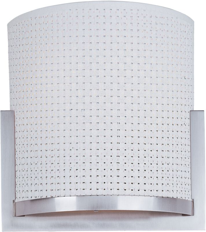 ET2 E95080-100SN Satin Nickel Contemporary Elements Wall Sconce