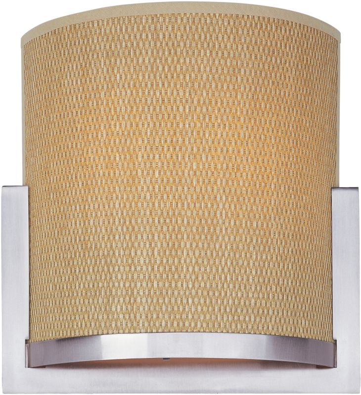ET2 E95188-101SN Satin Nickel Contemporary Elements Wall Sconce