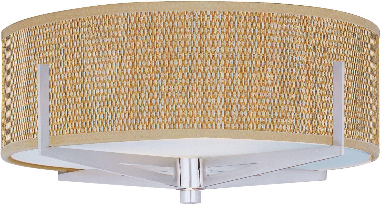 ET2 E95300-101SN Satin Nickel Contemporary Elements Ceiling Light