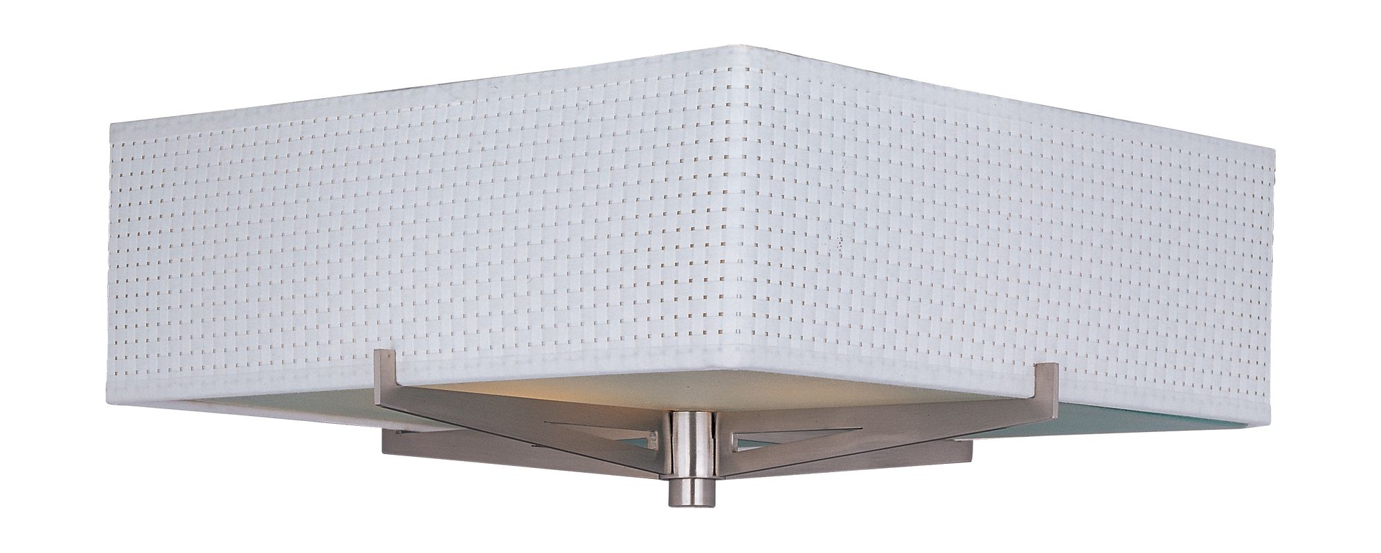ET2 E95340-100SN Satin Nickel Contemporary Elements Ceiling Light