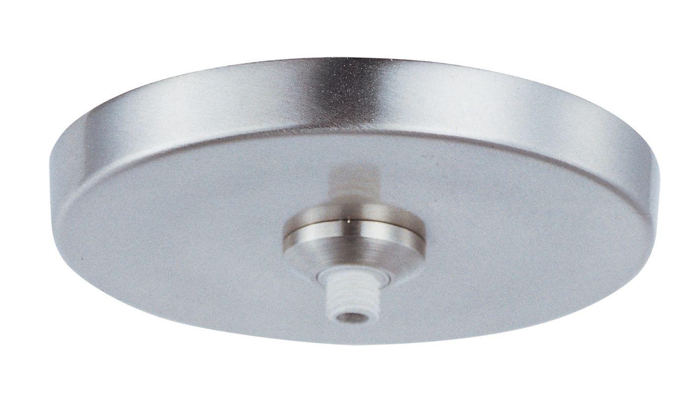ET2 EC85002 LED RapidJack 1 Light Canopy Satin Nickel Accessory