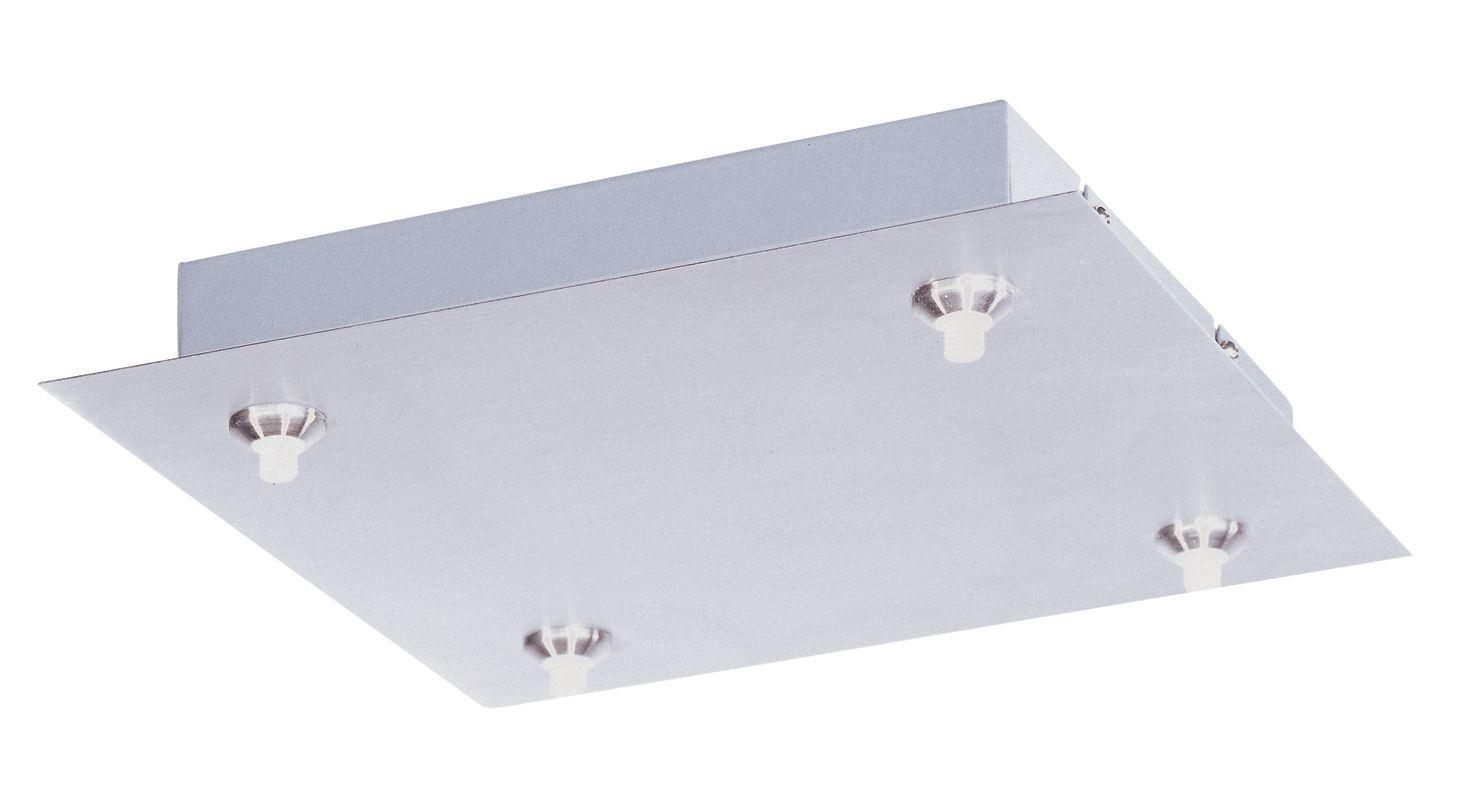 ET2 EC85004 LED RapidJack 4 Light Canopy Satin Nickel Accessory
