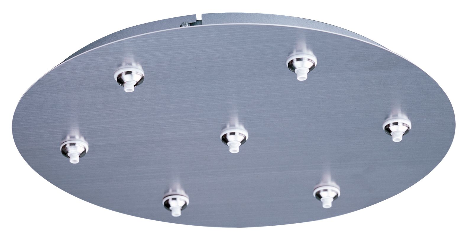 ET2 EC85018 LED RapidJack 7 Light Canopy Satin Nickel Accessory