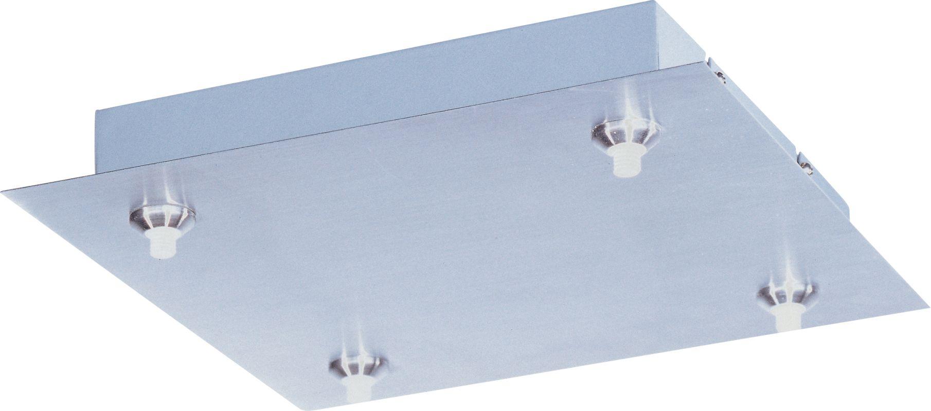 ET2 EC95004 RapidJack 4 Light Canopy Satin Nickel Accessory Canopies