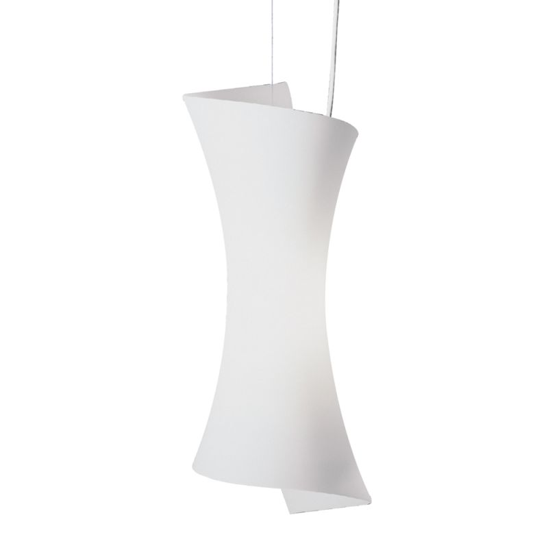 ET2 E20419-09 Frost White Contemporary Conico Pendant