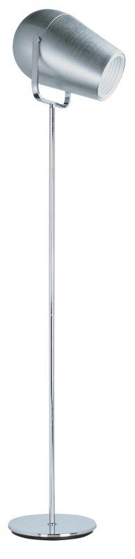 ET2 E20835 Stage Collection 1 Light LED Floor Lamp Satin Aluminum