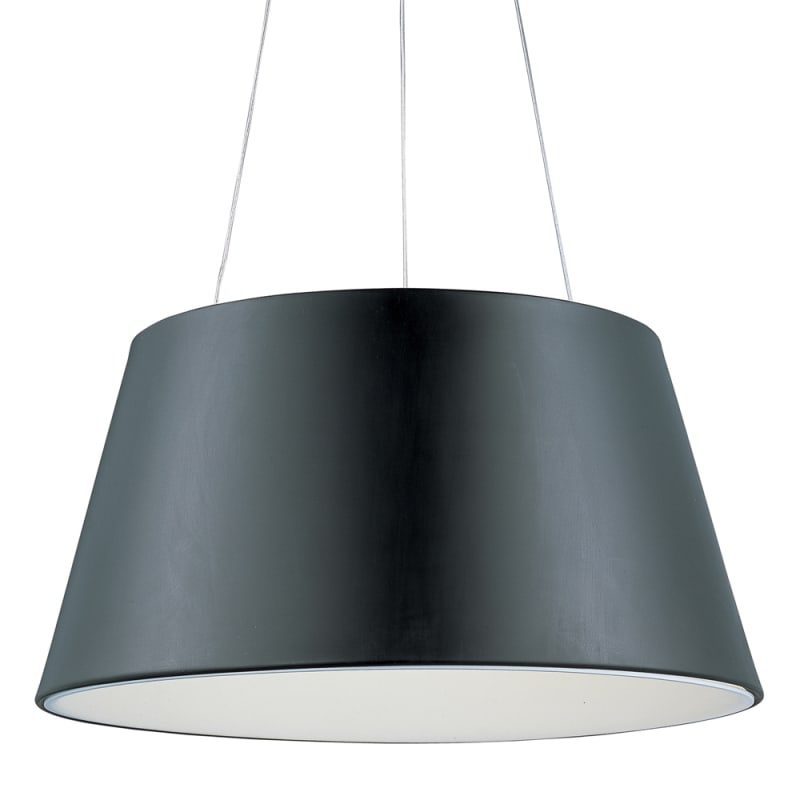 "ET2 E20908 2 Light 24"" Wide Pendant from the Quantum Collection Black"