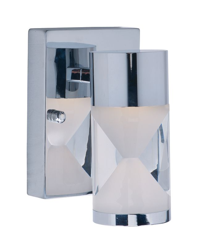 ET2 E22461-75PC Tyme 1 Light LED Wall Sconce Polished Chrome Indoor Sale $238.00 ITEM: bci2270844 ID#:E22461-75PC UPC: 845094061106 :