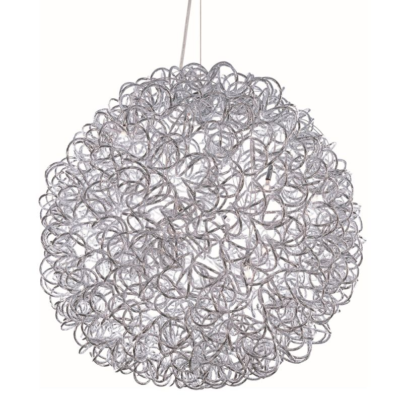 """ET2 E22574 12 Light 23.5"""" Wide Pendant from the Dazed Collection"""