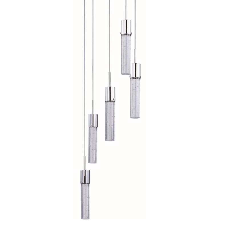 "ET2 E22775 5 Light LED 14"" Wide Pendant from the Fizz IV Collection"