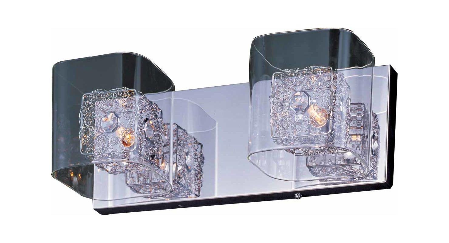 ET2 E22832-18PC Polished Chrome Contemporary Gem Bathroom Light Sale $98.00 ITEM: bci1827945 ID#:E22832-18PC UPC: 845094047551 :