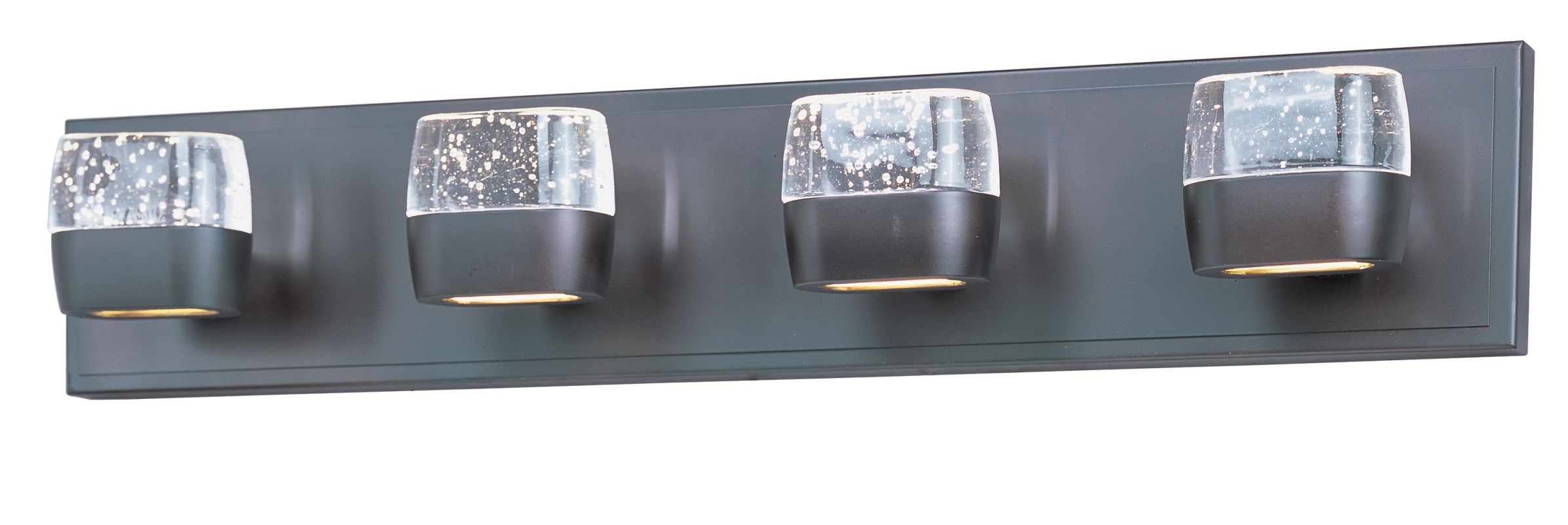 ET2 E22894 Volt 4 Light 27´´ Bathroom Vanity Light with Glass Shades