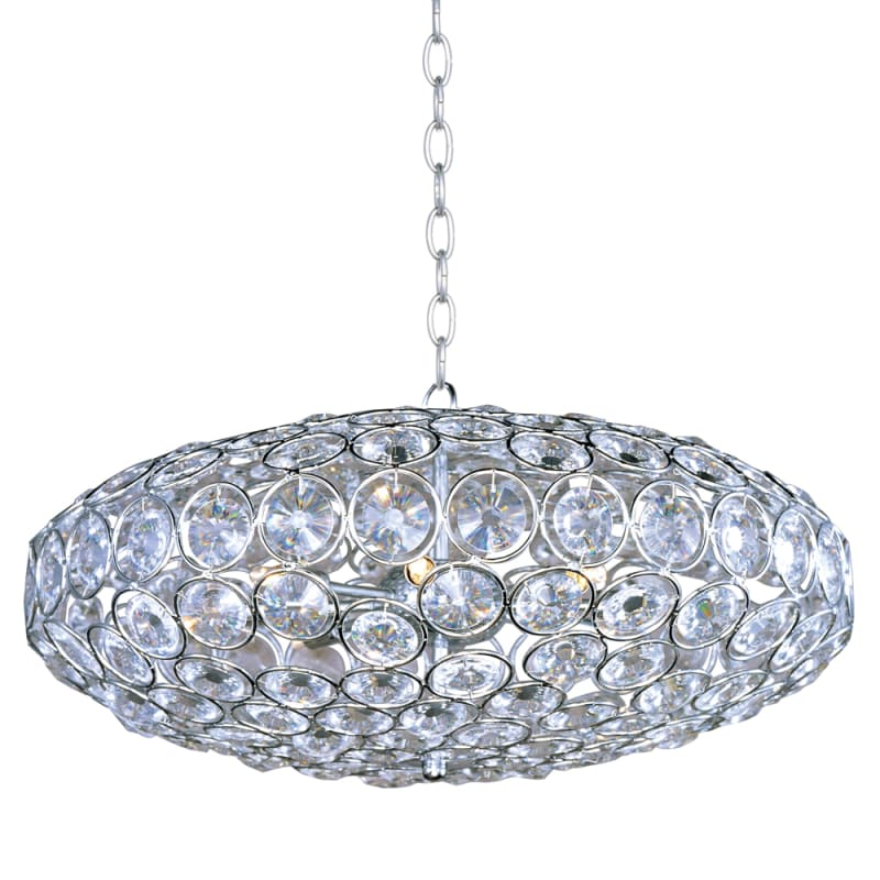 ET2 E24012-20 8 Light Pendant from the Brilliant Collection Polished