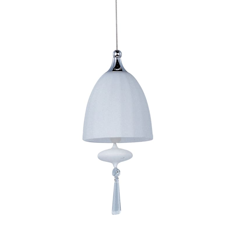 ET2 E24351-11 1 Light Mini Pendant from the Chute Collection - Bulb
