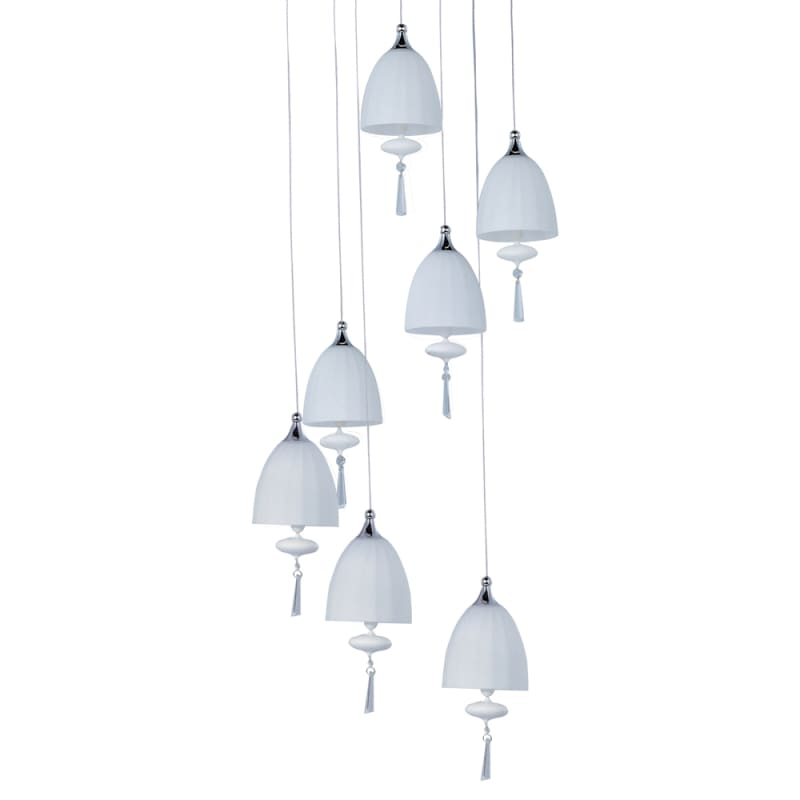 ET2 E24356-11 7 Light Adjustable Height Pendant from the Chute Sale $163.57 ITEM: bci1908418 ID#:E24356-11PC UPC: 845094049197 :