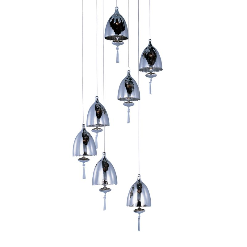 ET2 E24356-81 7 Light Adjustable Height Pendant from the Chute Sale $170.71 ITEM: bci1908419 ID#:E24356-81PC UPC: 845094049203 :