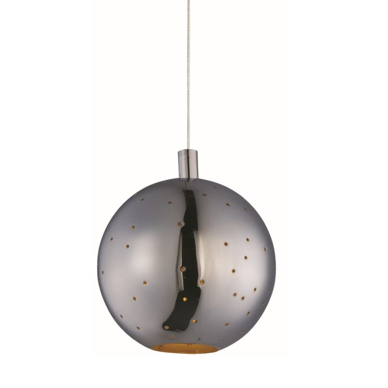 """ET2 E24480 1 Light 6"""" Wide Pendant from the Polaris Collection"""