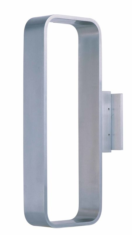 """ET2 E41323 9 Light LED 4.25"""" Tall Wall Sconce From The Alumilux"""