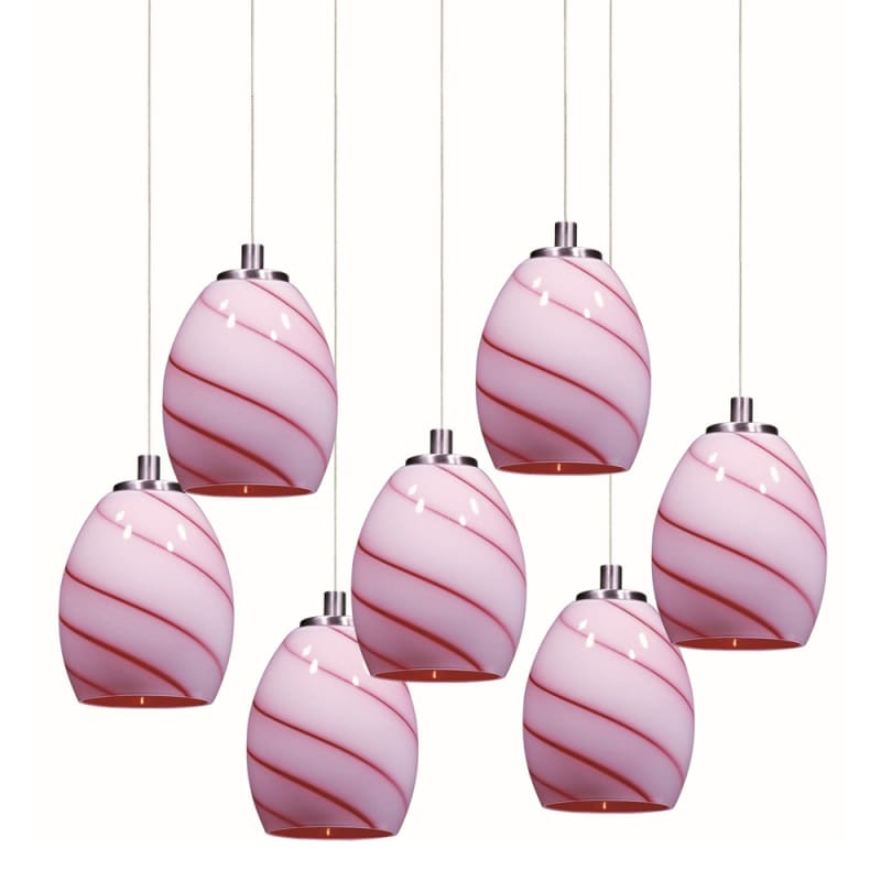 ET2 E93736-107SN Satin Nickel Contemporary Minx Pendant Sale $1098.00 ITEM: bci2099960 ID#:E93736-107SN UPC: 845094055785 :