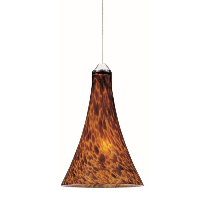 "ET2 E94331-104 1 Light 6"" Wide Pendant From The Leopard Collection"