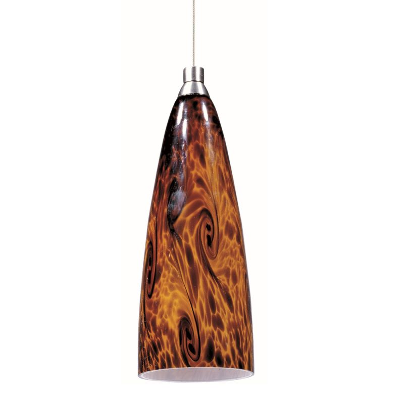 "ET2 E94343-102 1 Light 6"" Wide Pendant From The Amber Lava Collection"