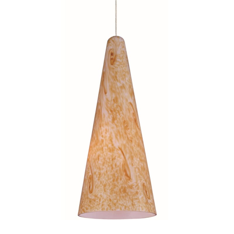 "ET2 E94430-103 1 Light 5"" Wide Pendant From The Lava Collection Bronze"
