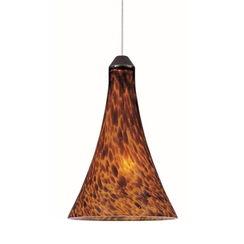 """ET2 E94431-104 1 Light 7"""" Wide Pendant From The Leopard Collection"""
