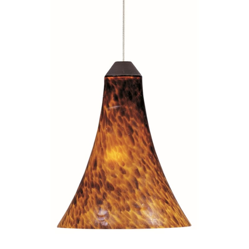 "ET2 E94433-104 1 Light 7"" Wide Pendant From The Leopard Collection"