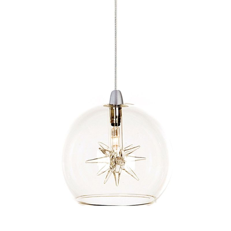 ET2 E94572-24 Satin Nickel with Clear Contemporary Starburst Pendant Sale $112.00 ITEM: bci2100161 ID#:E94572-24 UPC: 845094053958 :
