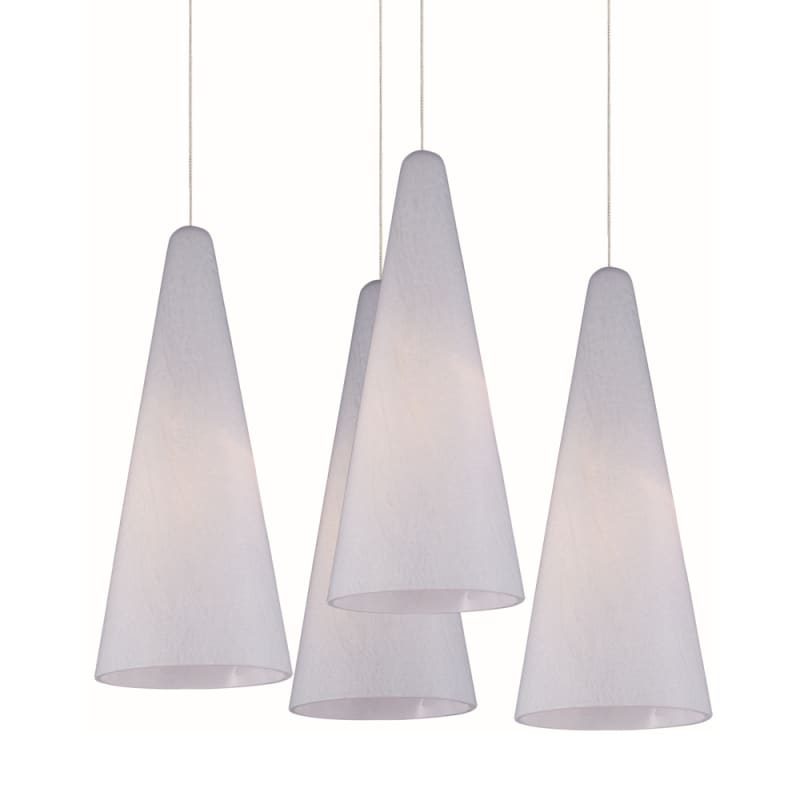 "ET2 E94728-101 4 Light 11"" Wide Pendant From The Lava Collection"