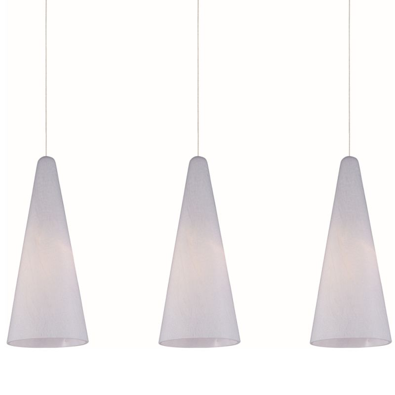 """ET2 E94828-101 3 Light 25"""" Wide Pendant From The Lava Collection"""